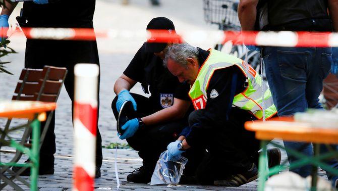 El terrorista d'Ansbach va jurar lleialtat a Estat Islàmic en un vídeo