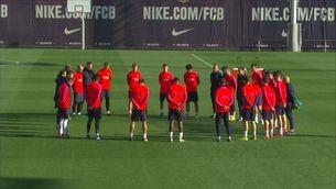 El Barça fa un minut de silenci pel Chapecoense