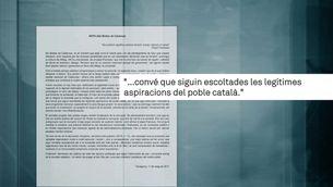 Els bisbes catalans es posicionen a favor del Pacte pel Referèndum