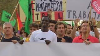 Imatge de:La manifestació del 3-O, massiva des dels Jardinets de Gràcia a Via Laietana