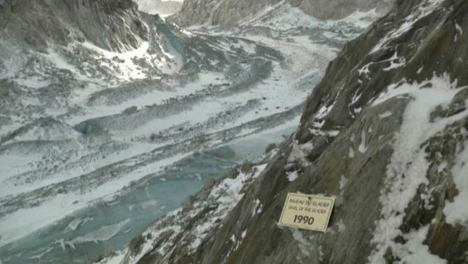 La Mer de Glace, la glacera més famosa dels Alps, agonitza