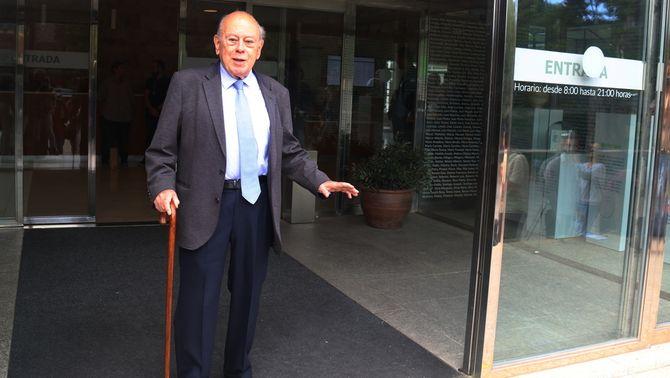 Jordi Pujol en una imatge de l'octubre del 2018