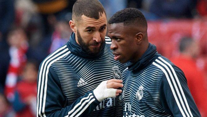 Benzema, lesionat, no jugarà contra el Valladolid i perilla la Champions