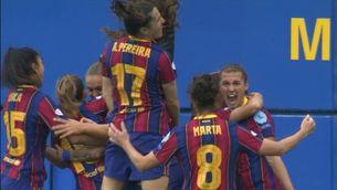 El Barça es classifica per a la final de la Lliga de Campions