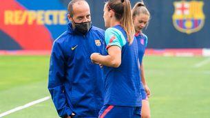 Plantilla i entrenador rebaixen la tensió a la crisi del Barça femení
