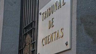 La façana del Tribunal de Comptes