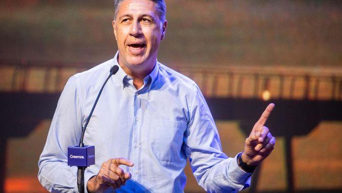 Xavier García Albiol va participar a principis d'aquest mes a la convenció del PP a València