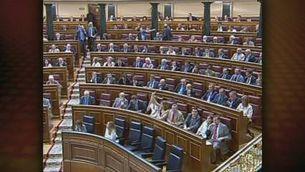Aprovada al Congrés una moció que insta a aturar les obres de l'AVE