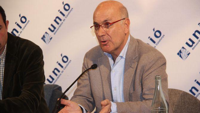 Josep Antoni Duran i Lleida ha assistit aquest dissabte al consell nacional d'UDC. (Foto: ACN)