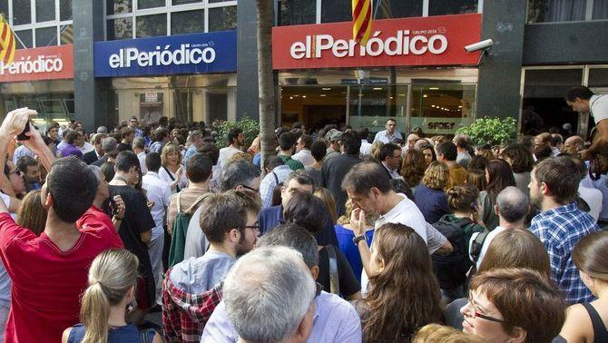 Unes 500 persones demanen l'alliberament del periodista Marc Marginedas