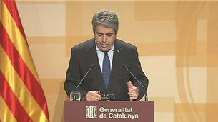 """Homs considera les paraules d'Aznar més pròpies """"d'un altre règim"""""""