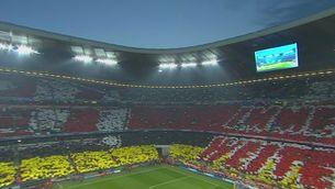 Mosaic espectacular al camp del Bayern