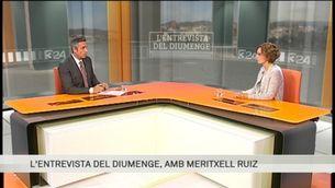 """""""L'entrevista del diumenge"""", amb Meritxell Ruiz"""