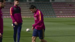 Imatge de:El Barça ja pensa en la Champions