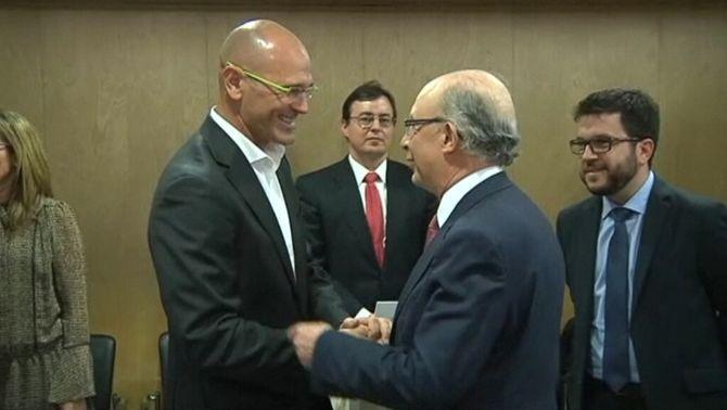 Acaba sense acord el Consell de Política Fiscal i Financera, amb Romeva en substitució de Junqueras