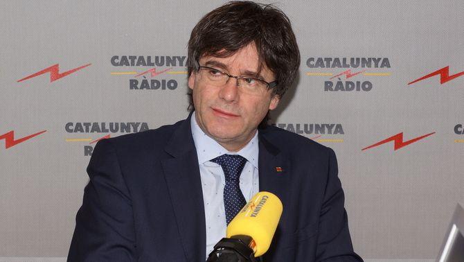 """Carles Puigdemont: """"No hi haurà una tercera llista amb 69 punts"""""""