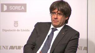 """Puigdemont: """"L'única manera que al setembre no hi hagi referèndum és que l'Estat s'assegui a negociar"""""""