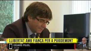 """Eduard Pujol: """"És una bufetada de la justícia europea a l'espanyola"""""""