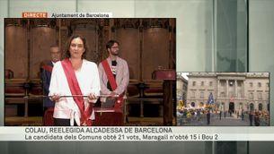 Ada Colau és reelegida alcaldessa de Barcelona