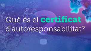 Què és el certificat d'autoresponsabilitat?