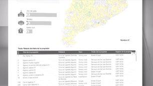 El mapa de les 3.722 immatriculacions de l'Església a Catalunya
