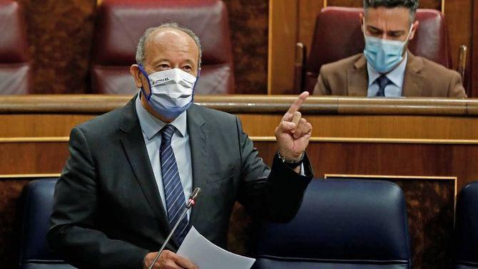 Juan Carlos Campo, ministre de Justícia, informa al Congrés que tramitaran indults als presos 1-O