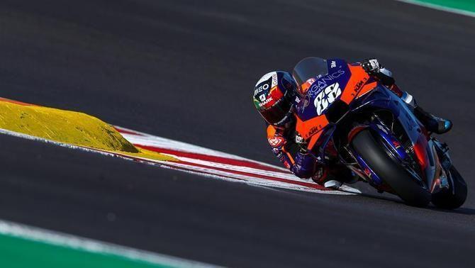 """Miguel Oliveira aconsegueix al circuit de casa la primera """"pole"""" de la seva vida, i la primera portuguesa de MotoGP"""