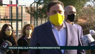 """Oriol Junqueras: """"Tenim un país per aixecar i una pandèmia per superar"""""""