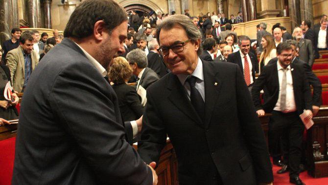 Acords i desacords d'Esquerra i Junts en una dècada d'investidures