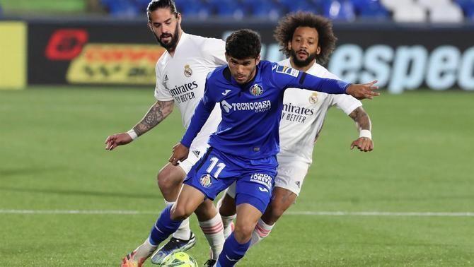 Un Madrid amb moltes baixes punxa a Getafe (0-0)