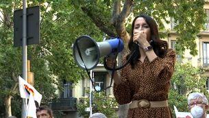Ciutadans i PPC es manifesten contra els indults a Barcelona i acusen Pedro Sánchez de trair els constitucionalistes