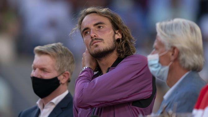 Stefanos Tsitsipas revela el cop anímic que va rebre cinc minuts abans de jugar la final de Roland Garros