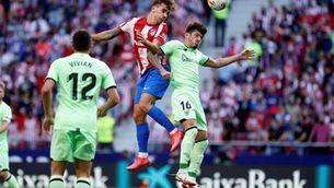 Atlètic de Madrid i Athletic empaten al Wanda amb Joao Félix expulsat (0-0)