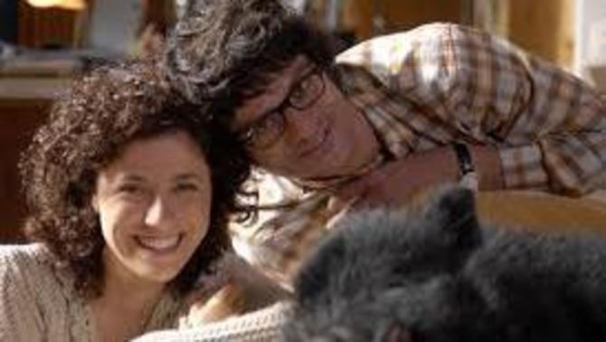 "Joel i Anna Sahun, protagonistes de ""Porca Misèria""."