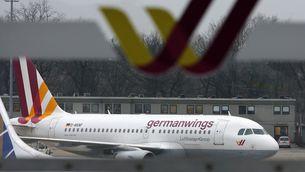 Un avió de Germanwings a l'aeroport de Berlín (Reuters)
