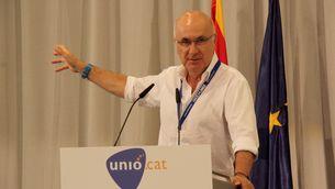Josep Antoni Duran i Lleida en la convenció estratègica programàtica d'Unió (ACN)