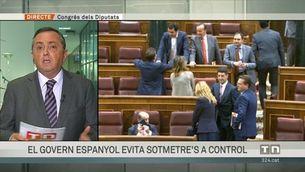 El govern espanyol evita sotmetre's a control