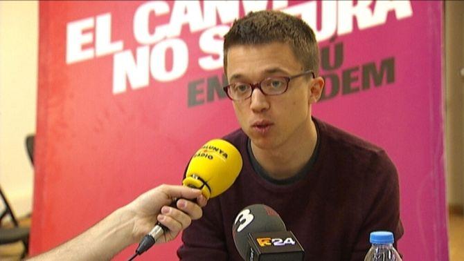 """Errejón diu que, el 26-J, """"Catalunya, el País Valencià i les Illesseran decisius"""""""