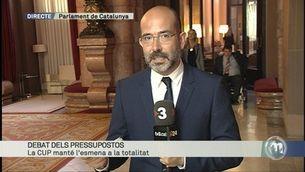 Puigdemont intervindrà al Parlament aquesta tarda després de la votació dels pressupostos