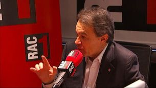 """Artur Mas: """"Al setembre la CUP pot acabar d'enfonsar el govern"""""""