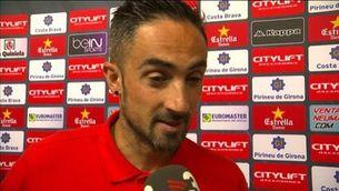 """Richy, emocionat: """"El somni de jugar a Primera no me'l traurà ningú"""""""