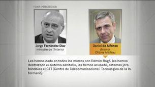 Més detalls de les converses de Fernández Díaz amb De Alfonso