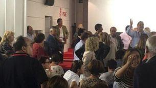 Interior del comitè federal del PSOE (ACN)