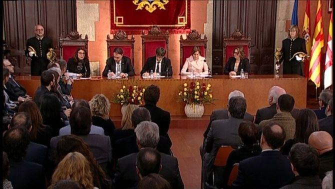 """Puigdemont fa una crida a """"persistir"""" com van fer les Bases de Manresa fa 125 anys"""