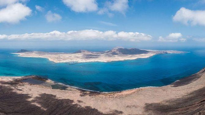 La Graciosa, vuitena illa de les Canàries (WikimediaCommons)