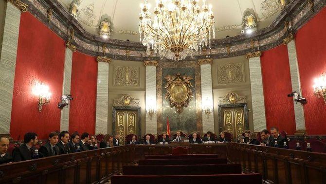 La sala de plens del Tribunal Suprem (ACN)
