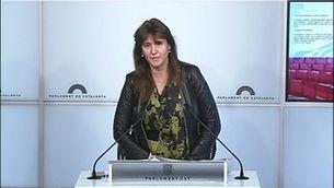 Junts per Catalunya i Esquerra consideren un atac a la llibertat d'expressió la querella contra Torra
