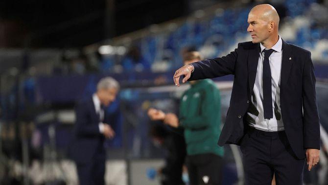 """Zidane: """"Contra l'Atlètic de Madrid no vam guanyar res, només 3 punts"""""""