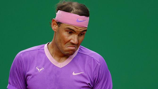 Rafael Nadal cau eliminat als quarts de final de Montecarlo