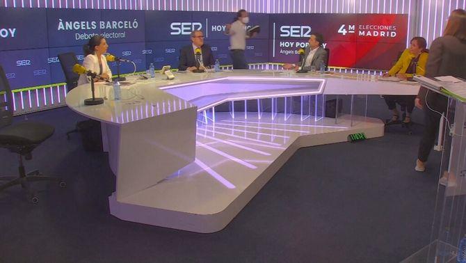 """L'estratègia de """"trampes mediàtiques"""" de Vox fa saltar els debats a Madrid"""